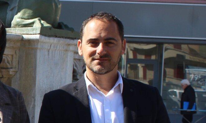 Anthony Cellier, candidat la République en Marche sur la 3e circonscription du Gard © Thierry Allard / Objectif Gard