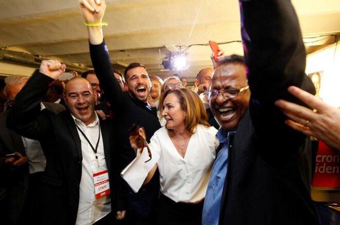 Corinne Versini, référente d'En Marche! 13 et dirigeante d'entreprise, sera opposée à Jean-Luc Mélenchon à Marseille © Reuters