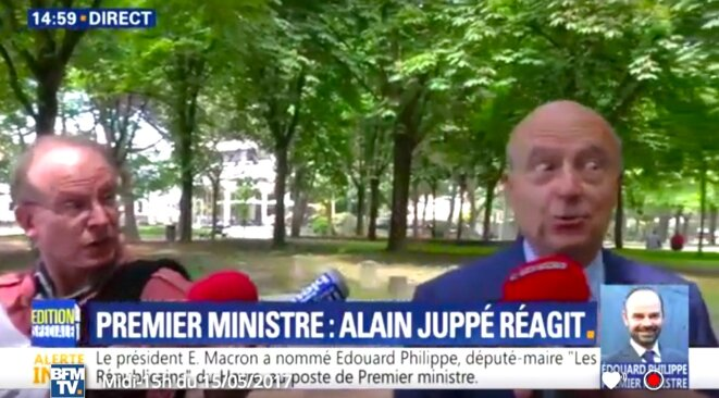 Alain Juppé ne cautionne pas. © Pol