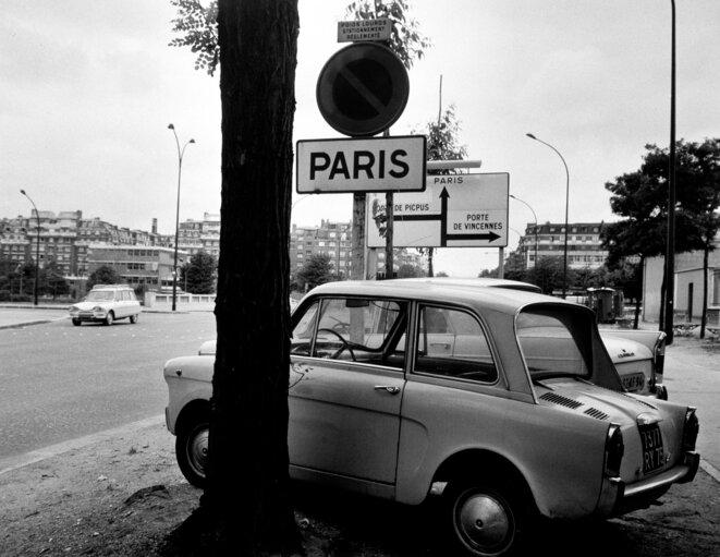 Eustachy Kossakowski, 6 mètres avant Paris, 1972. © Anka Ptaszkowska