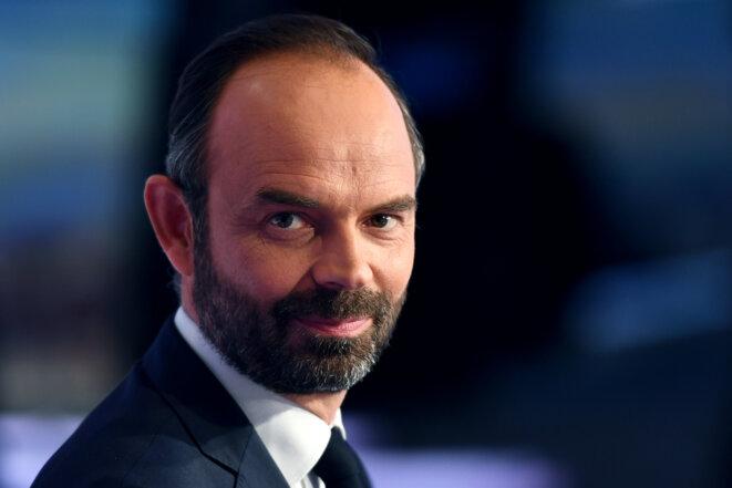 Le premier ministre Édouard Philippe, le 15 mai, sur le plateau de TF1. © Reuters