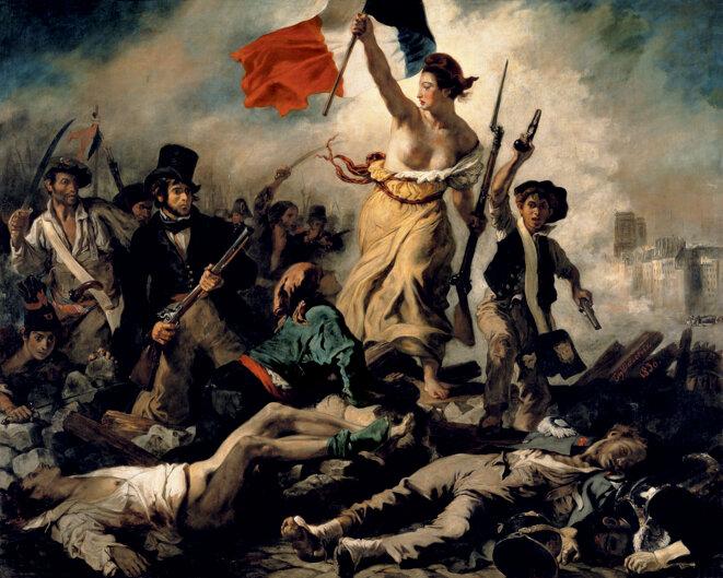 La Liberté guidant le peuple, 1830 © Eugène Delacroix