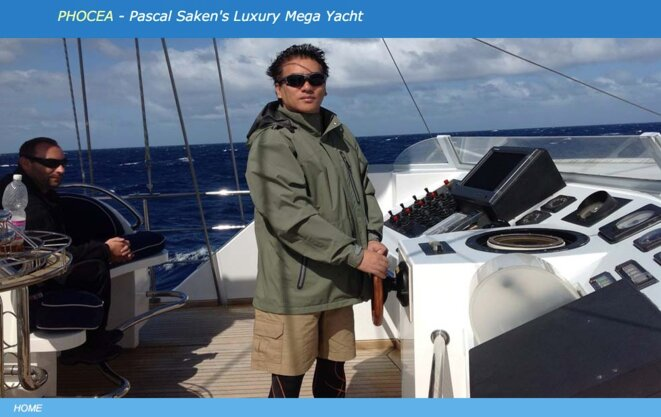 Capture d'écran d'un des trente sites web où Pascal Vu Anh Quan Saken, 54 ans, assure son autopromotion. © sakenphoceacom