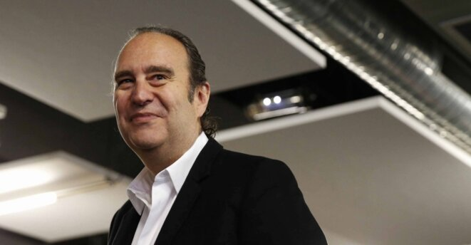 Xavier Niel, patron et actionnaire majoritaire de Free, copropriétaire du groupe Le Monde et de « L'Obs ». © Reuters