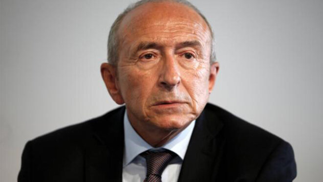 Lyon mayor and former minister of the interior Gérard Collomb. © Reuters