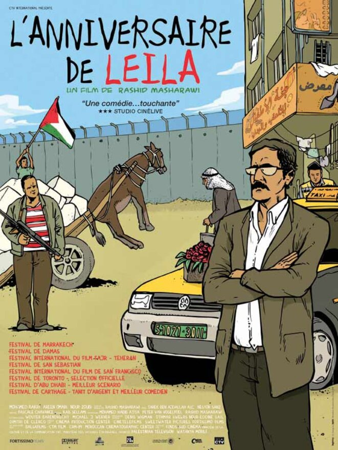 L'Anniversaire de Leila, un film de Rashid Masharawi (2008)