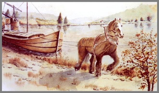 halage-avec-cheval