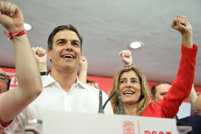 Pedro Sánchez, tras conocer los resultados de las primarias del PSOE. © Flickr PSOE