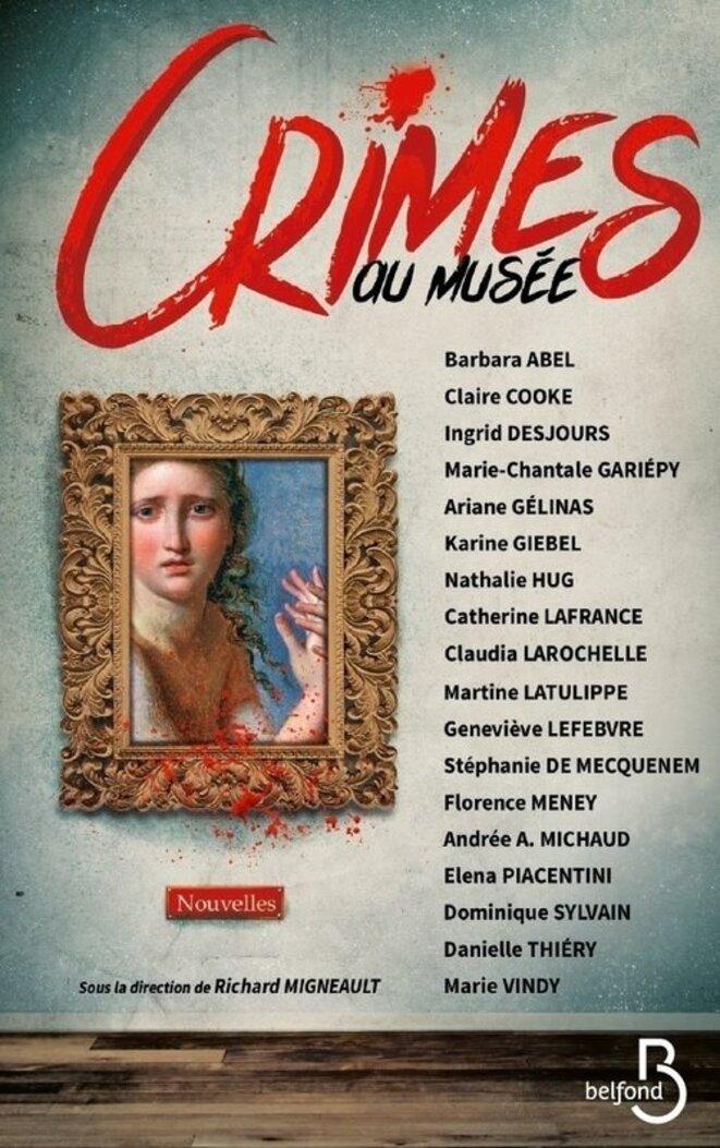 Crimes au musée aux éditions Belfond DR