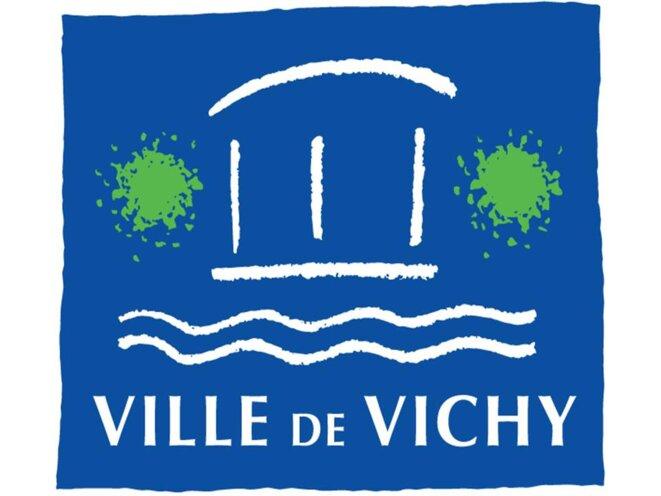 Le logo de la Ville de Vichy © Hôtel de  Ville de Vichy