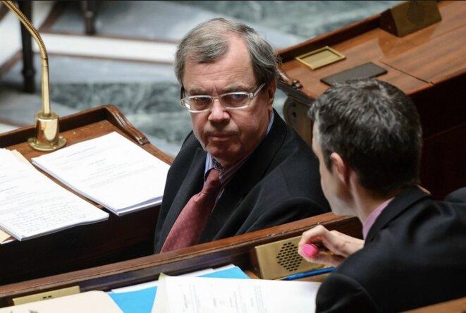 Alain Tourret, député issu du Parti radical de gauche et candidat pour La République en marche dans le Calvados