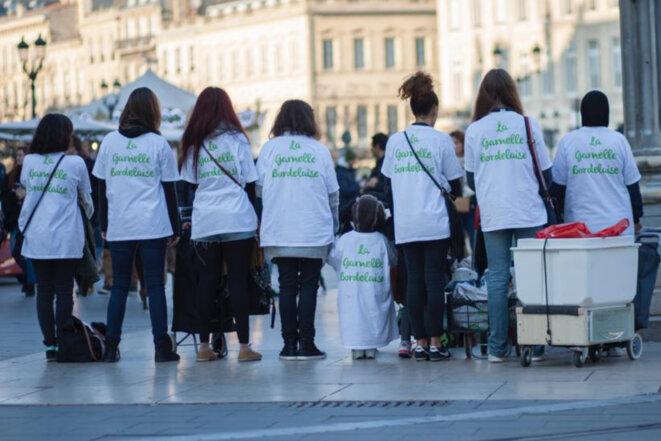 L'équipe de la Gamelle Bordelaise, dans le centre de Bordeaux. © Tony Hoffmann