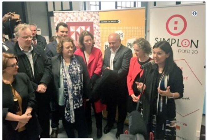 Anne Hidalgo inaugure Simplon le 21 février 2017