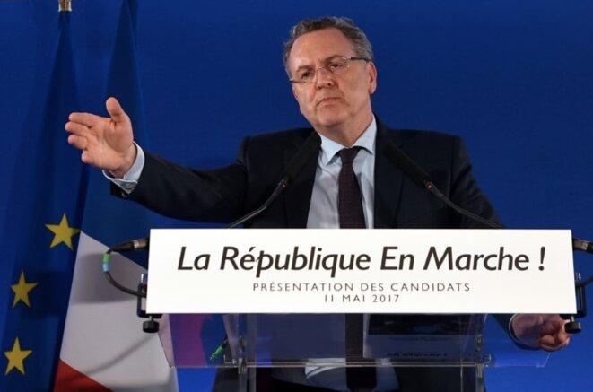 Richard Ferrand, ministre et secrétaire général d'En Marche ! © Reuters