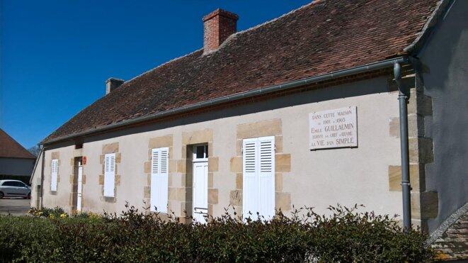 La maison natale d'Émile Guillaumin. © Hélène Staes