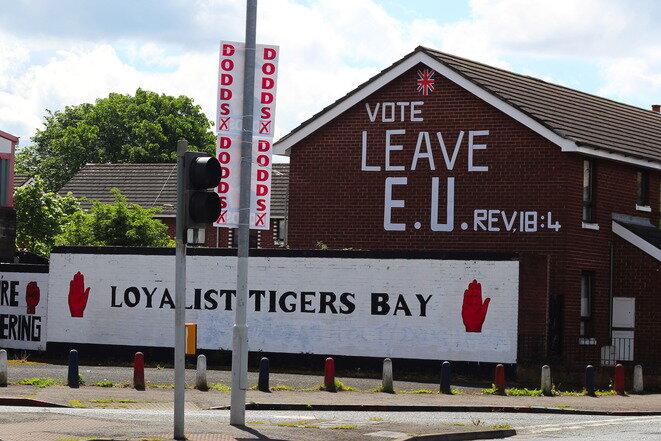 En la circunscripción del Norte de Belfast. © Manon Deniau