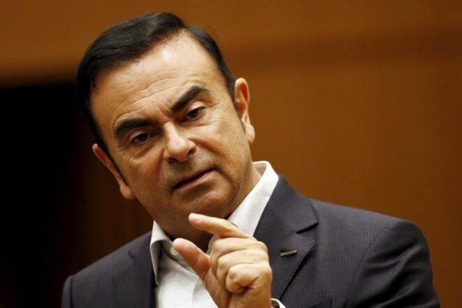 Carlos Ghosn, PDG de Renault. © Reuters