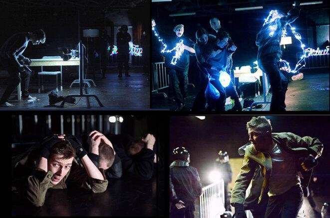 Le spectacle Otmorozki (Les Ordures) au Centre Gogol. © Centre Gogol