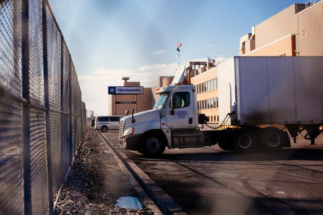 La Ville perd 400 000 dollars par an depuis que General Motor a décidé de ne plus utiliser les infrastructures de Flint. © Nastasia Peteuil