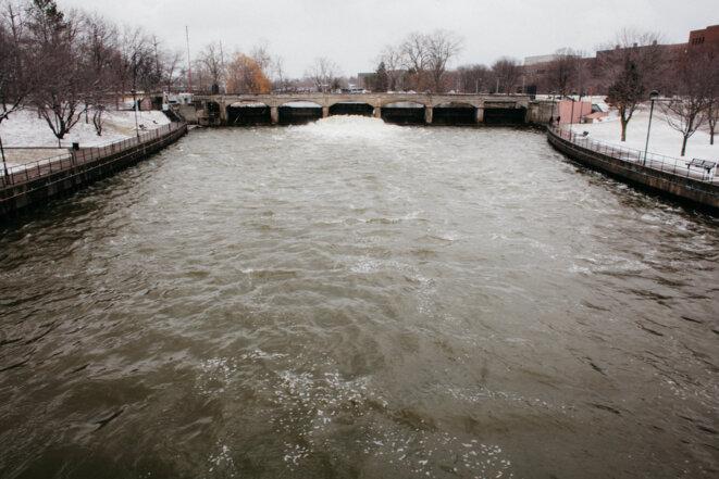 L'eau de Flint était utilisée comme source d'eau primaire pendant les années 1960. © Nastasia Peteuil