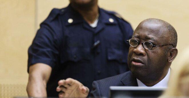 Laurent Gbagbo lors de l'ouverture de son procès devant la CPI, en janvier 2016. © Reuters
