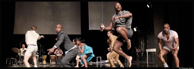 A Chaillot, Constanza Macras s'attaque au néocolonialisme après Apartheid dans un ballet en demi-teinte © Thomas Aurin