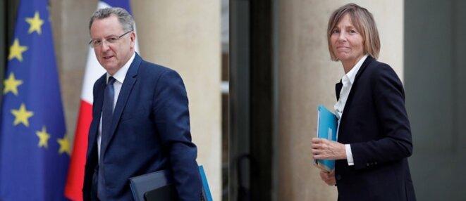 Richard Ferrand et Marielle de Sarnez. © Montage Reuters