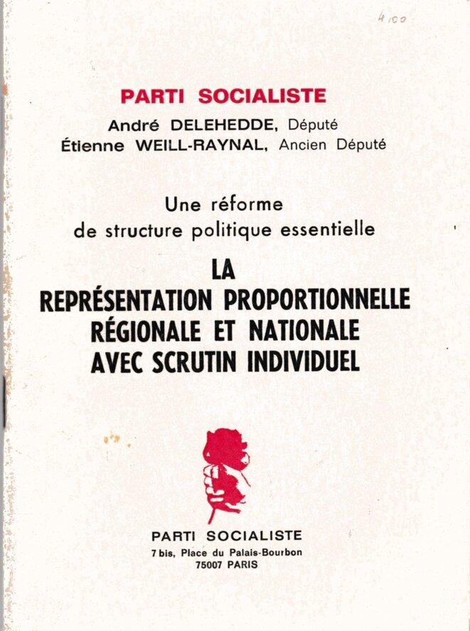 Brochure de 1978