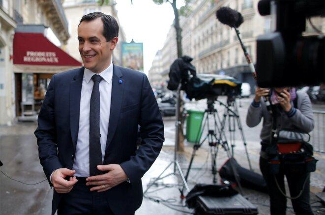 Nicolas Bay, le secrétaire général du FN et directeur de campagne des législatives, éliminé en Seine-Maritime dès le premier tour © Reuters