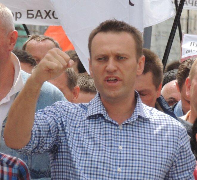 Alexeï Navalny. Archive.