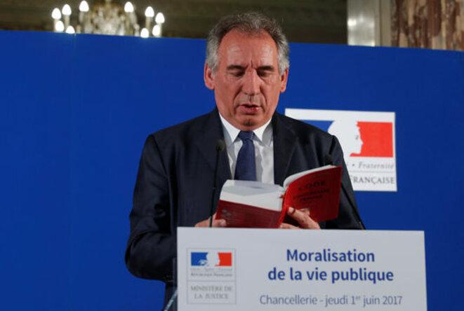 François Bayrou, garde des Sceaux © Reuters