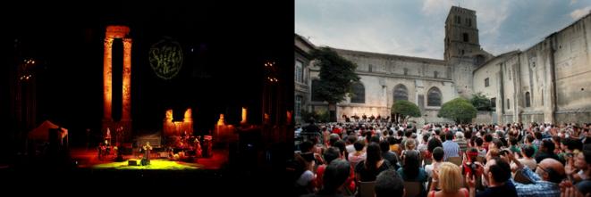 Soirée Suds au Théâtre Antique ; Moment Précieux, Cour de l'Archevêché  © Florent Gardin