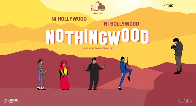 Affiche du film documentaire «Nothingwood» de Sonia KRONLUND © Gloria Films Production/Made in Germany