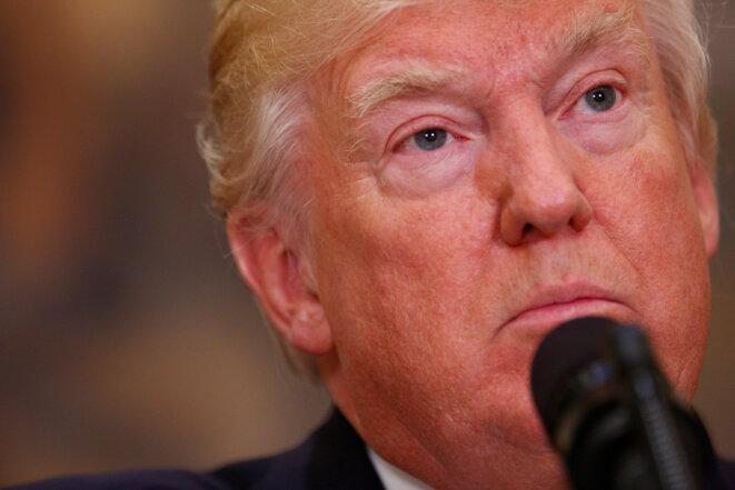 Donald Trump, jeudi 15 juin 2017 à la Maison Blanche. © Reuters