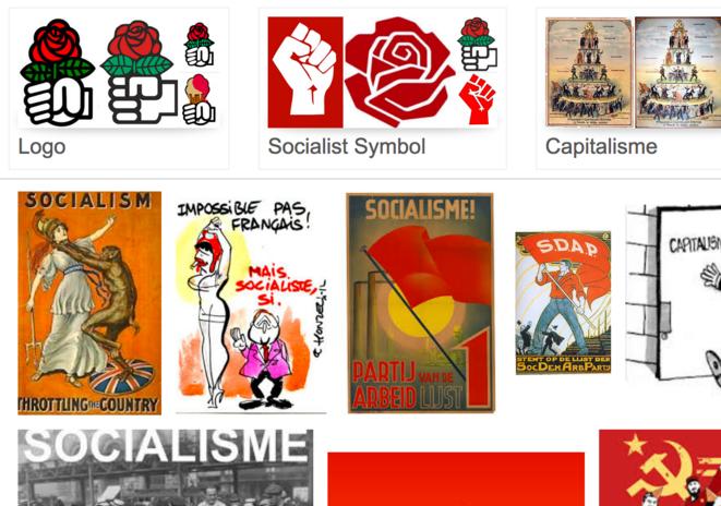 occurence socialisme sur un moteur de recherche