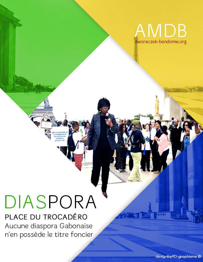 Place du Trocadéro, aucune diaspora Gabonaise n'en possède le titre foncier