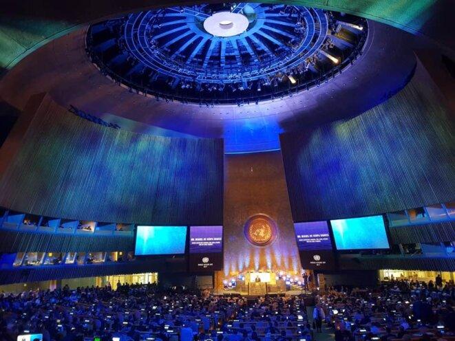 Ocean Conference ONU 5-9 juin.