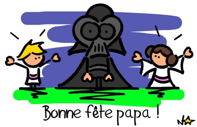Bonne fête Papa! © Norb