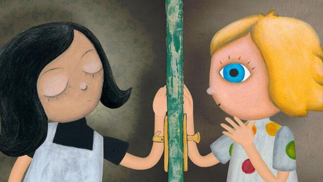 """""""Mimi et Lisa"""" de Katarina Kerekesova © ARTE Éditions"""