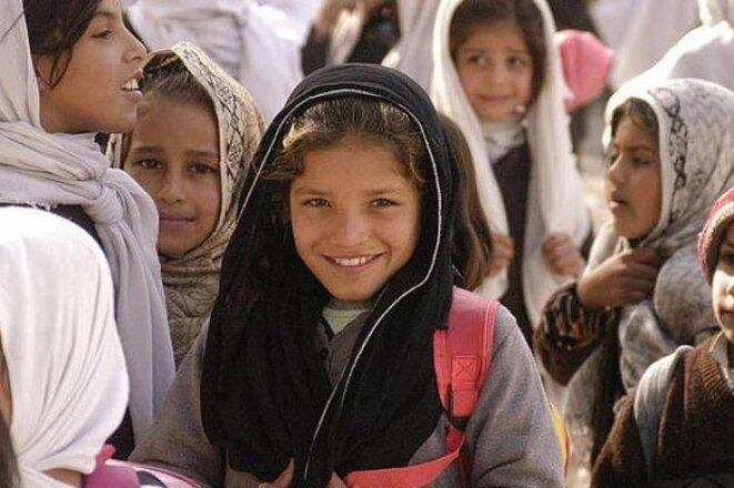 Ecolières en Afghanistan