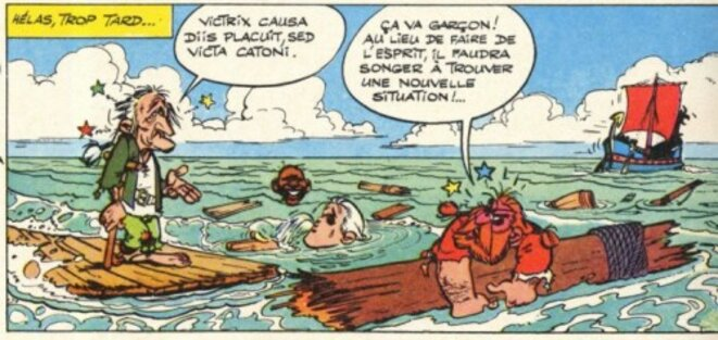 """Le """"Tour de Gaule d'Astérix"""" (1963)"""