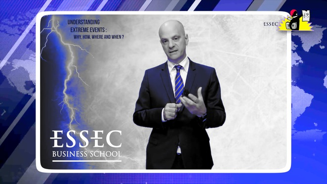 Jean-Michel Blanquer : « Essec is very happy to organize this conference on extreme events in finance » © LPL