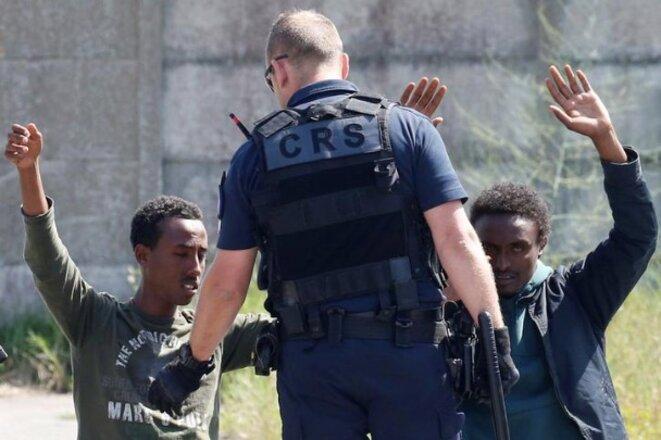 À Calais, le 1er juin 2017.