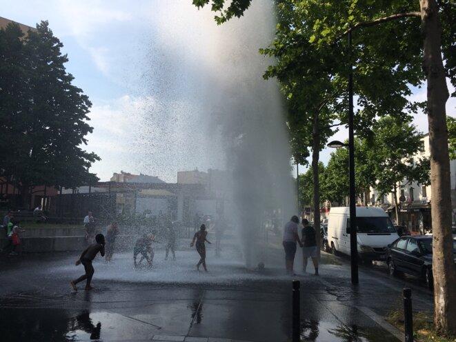 À Aubervilliers, 20 juin 2017 (JL).
