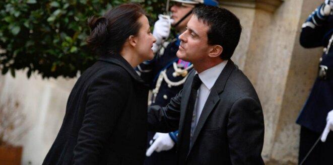 Cécile Duflot et Manuel Valls, pour le pire
