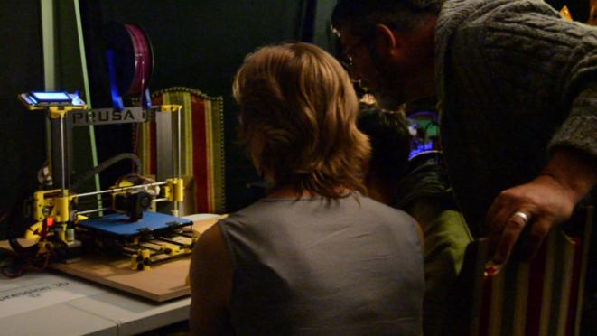 Démonstration de l'Imprimante 3D, objet de curiosité