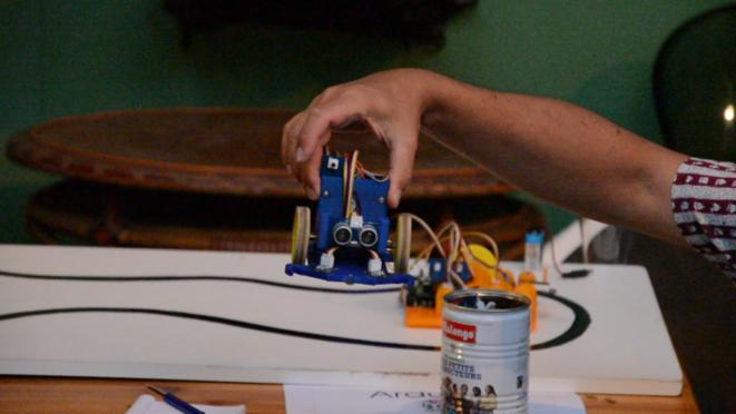Démonstration d'un robot sous Arduino