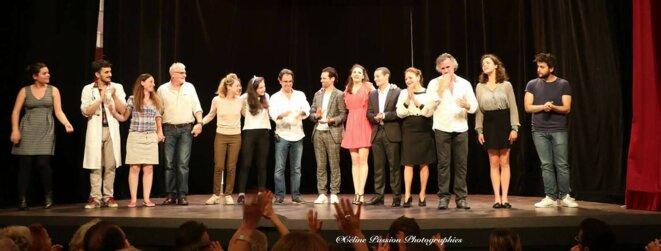 Entrée des Artistes 2017 , l'école de théâtre et de cinéma d'Olivier BELMONDO