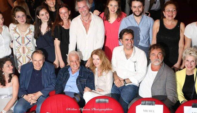 L'entrée des Artistes 2017 , école de Théâtre et de cinéma d'Olivier Belmondo