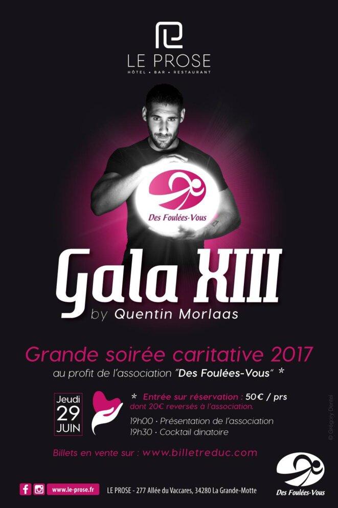 THIERRY PAUL VALETTE pour le Gala XIII DE Quentin Morlaas